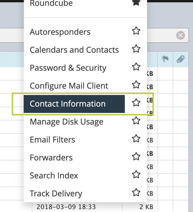 como activar notificaciones de login webmail