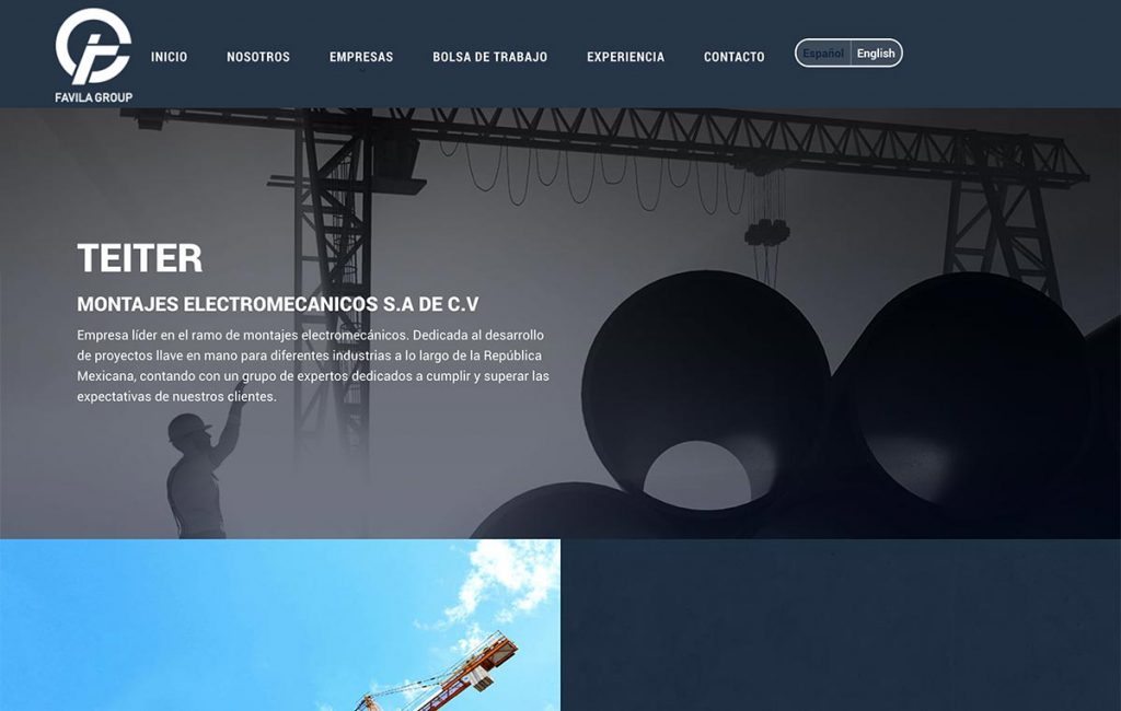 sitio web monterrey