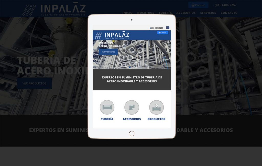 Diseño web ipad monterrey