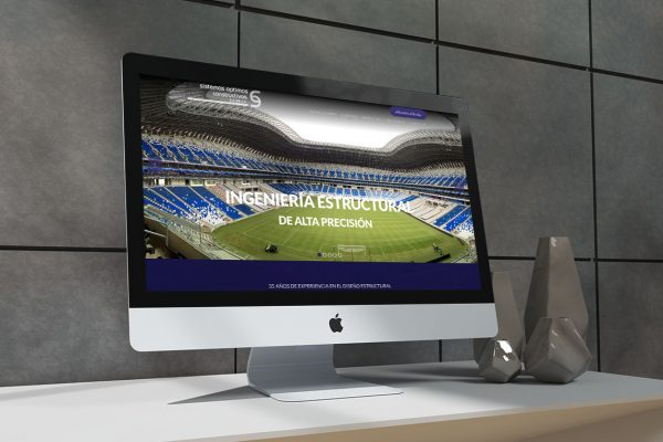 diseño web industrial
