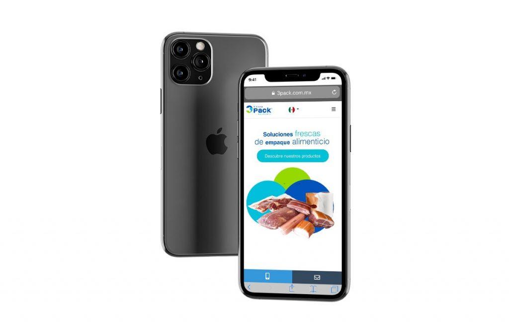 diseño web para iphone