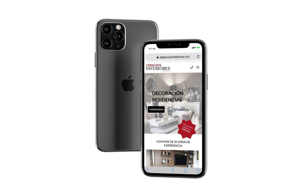 diseño web para móviles