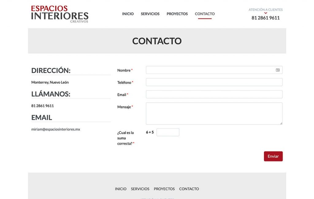 paginas web monterrey