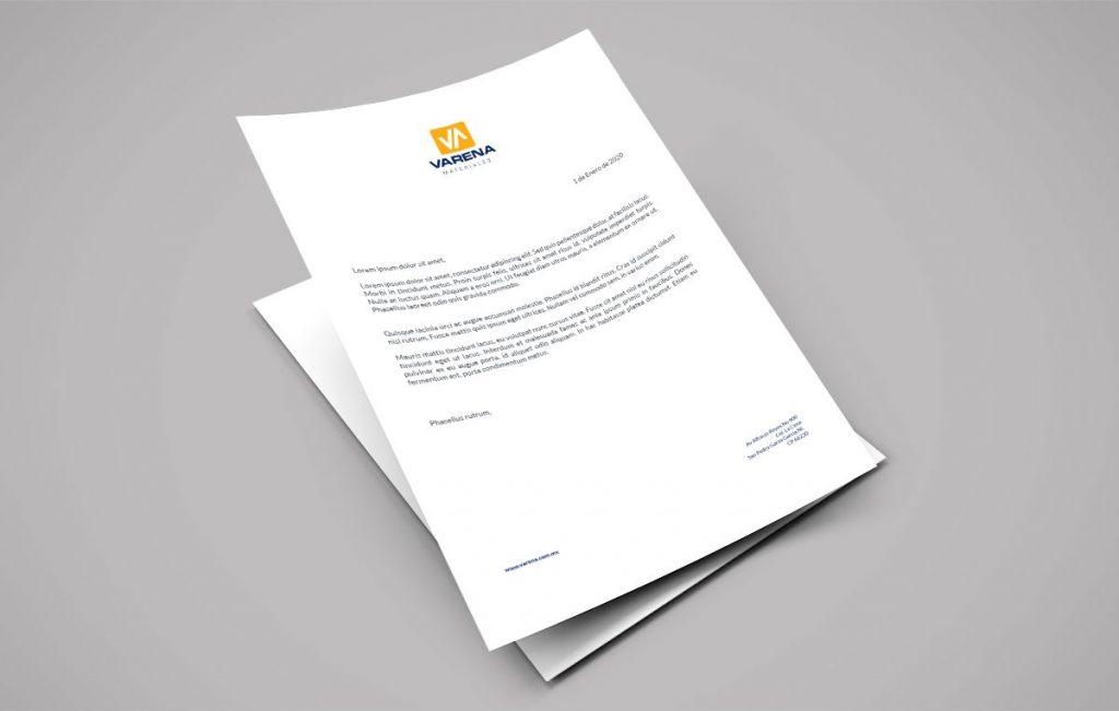 diseño de logotipo y papeleria