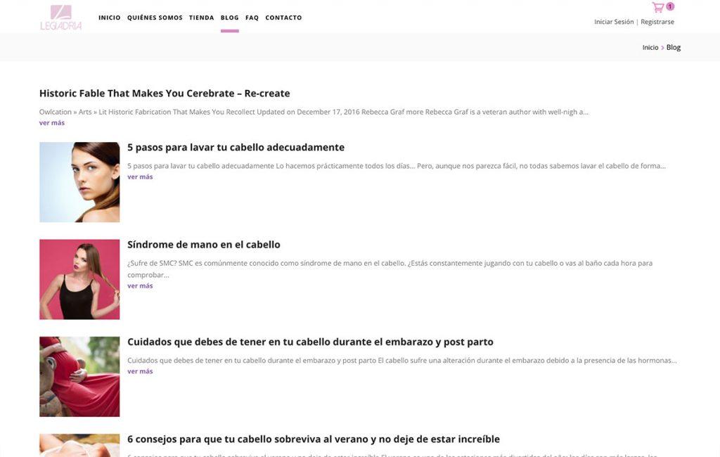 diseño web tienda virtual