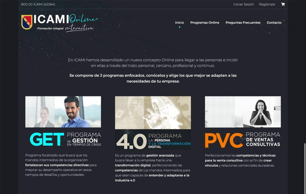 sitio web tienda en linea