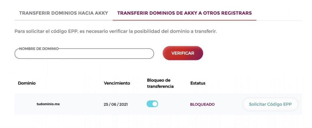 Como solicitar el código EPP en Akky