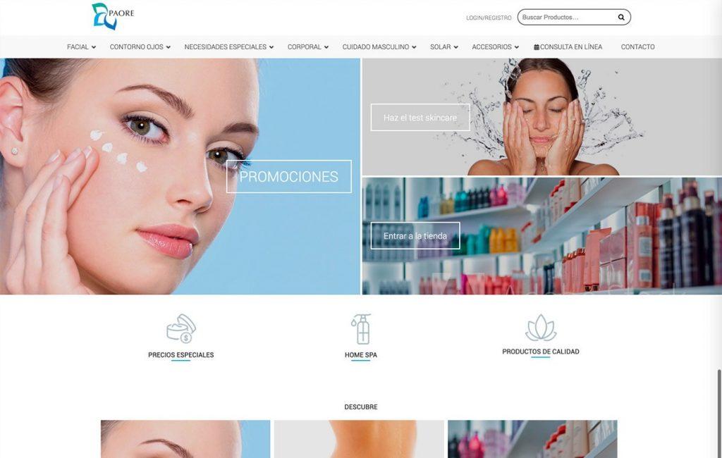 diseño sitio web tienda en línea