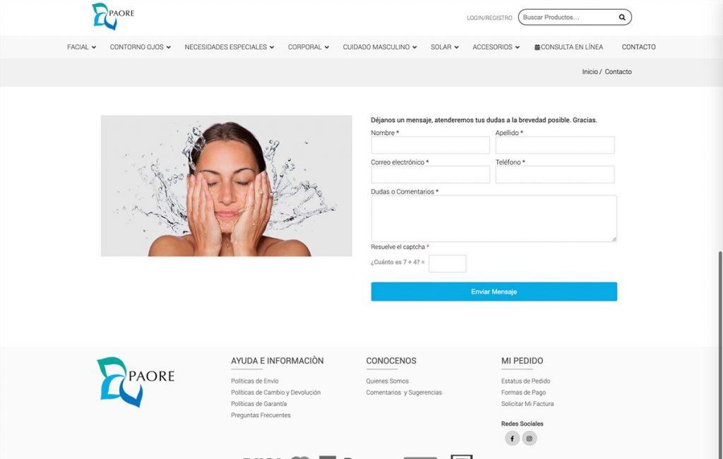 diseño de tienda en linea