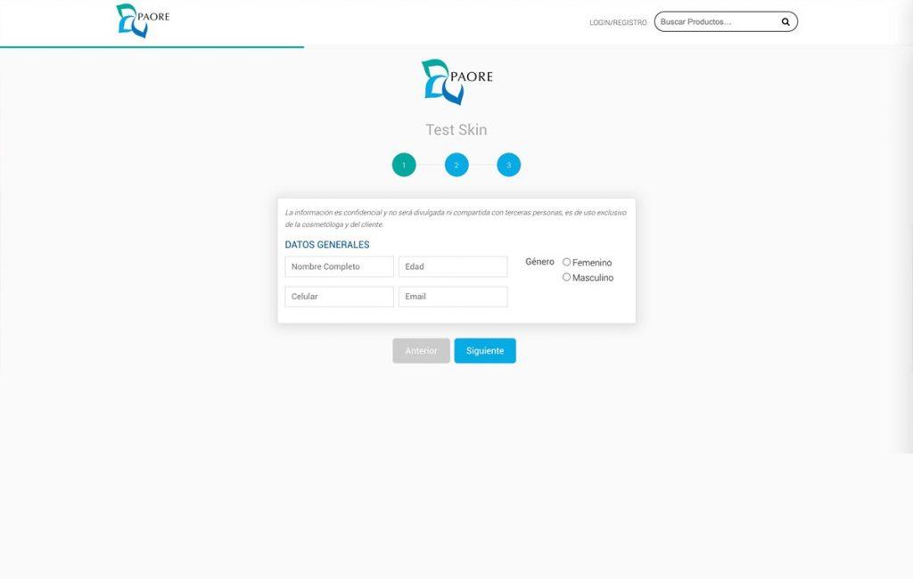 diseño sitio web tienda virtual
