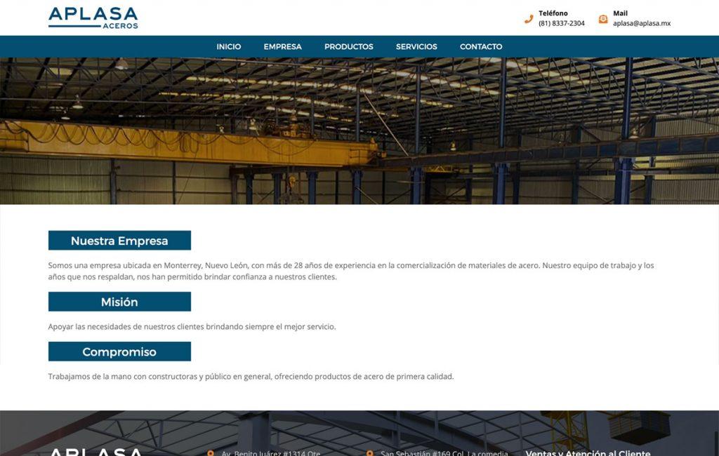 pagina de internet diseño
