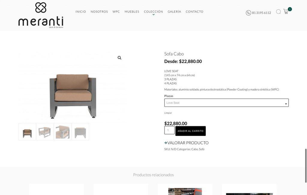 diseño de tienda web el linea monterrey