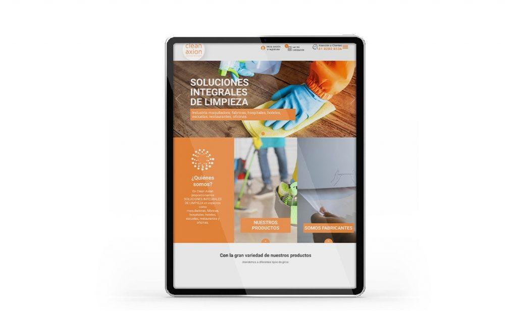 diseño web para tabletas