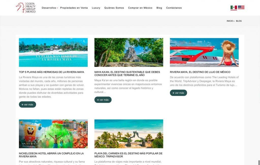 diseño de pagina web en sanpedro