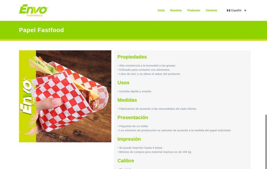 proveedor de paginas web