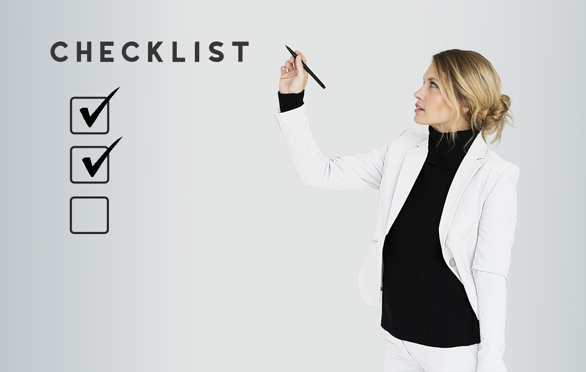 checklist de diseño web