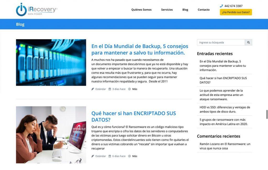 Diseño de sitio web profesional mty