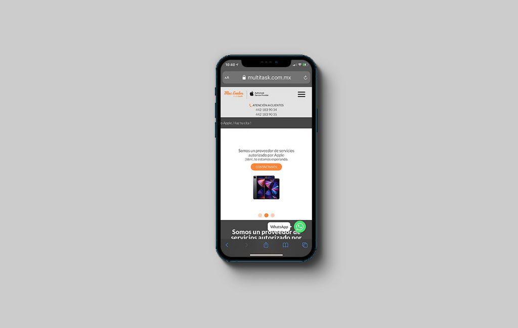diseño de paginas de internet móviles